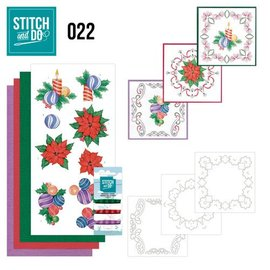BASTELSETS / CRAFT KITS Stitching Kit, Stitch and Do: Christmas