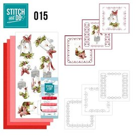 BASTELSETS / CRAFT KITS Bordürenset, Stitch and Do: Kerzen