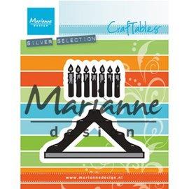 Marianne Design Taglio e goffratura modelli: Candele