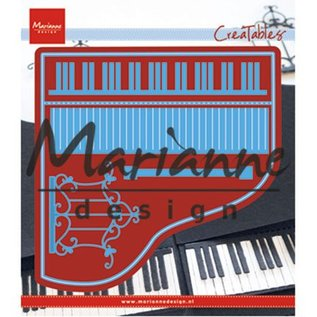 Marianne Design Stanzschablonen: Piano / Klavier