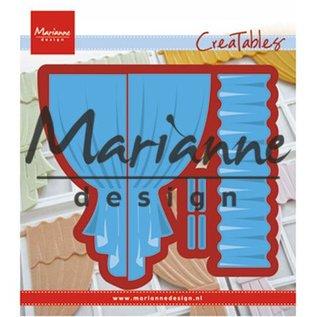 Marianne Design Cutting en embossing Sjablonen: gordijnen