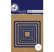 AURELIE AURELIE, Stanzschablonen: Vierecke