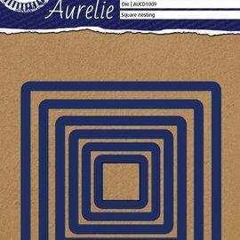 AURELIE AURELIE, Meurtrière et gaufrage: Carrés