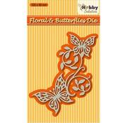 Nellie Snellen Stanzschablonen: Floral & butterflies