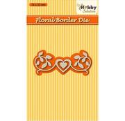 Nellie Snellen Stanzschablonen: Floral-2 border