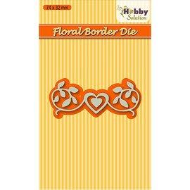 Nellie Snellen Découpe et gaufrage Modèles: Floral-2 frontière