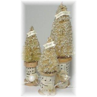 Objekten zum Dekorieren / objects for decorating 10 nostalgische spoelen, tussen 1,0 en 5,0 cm
