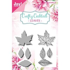 Joy!Crafts / Jeanine´s Art, Hobby Solutions Dies /  Stanzschablonen + passenden Stempel: Blätter