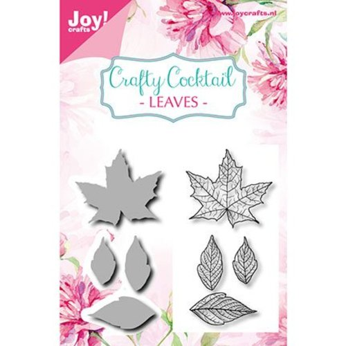 Joy!Crafts / Jeanine´s Art, Hobby Solutions Dies /  Matrices à découper + timbre assorti: Feuilles