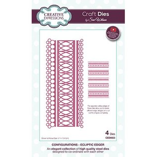 CREATIVE EXPRESSIONS und COUTURE CREATIONS Punching template, filigree border