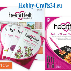 Heartfelt Creations aus USA Collection complète Camelia Carnation + Deluxe Kit fleur mise en forme