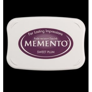 FARBE / STEMPELKISSEN Memento groß Format: 96x67mm, Farbe: Sweet Plum