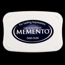 FARBE / STEMPELKISSEN Memento de gran tamaño: 96x67mm, color: Oscuridad París
