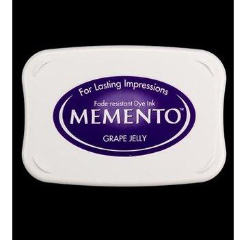 FARBE / STEMPELKISSEN Memento stor størrelse: 96x67mm, Farve: Drue Jelly