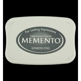 FARBE / STEMPELKISSEN Memento groß Format: 96x67mm, Farbe: Londen Fog