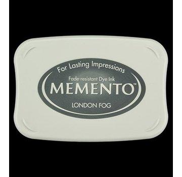 FARBE / STEMPELKISSEN Memento stor størrelse: 96x67mm, Farve: Londen Fog