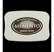 FARBE / STEMPELKISSEN Memento grandi dimensioni: 96x67mm, Colore: Espresso Tartufo