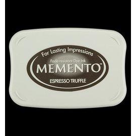 FARBE / STEMPELKISSEN Memento grande taille: 96x67mm, Couleur: Espresso Truffle