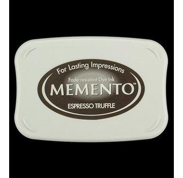 FARBE / STEMPELKISSEN Memento stor størrelse: 96x67mm, Farve: Espresso Truffle