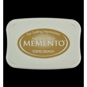 FARBE / STEMPELKISSEN Memento grande taille: 96x67mm, Couleur: Toffee Crunch