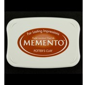 FARBE / STEMPELKISSEN Memento big Format: 96x67mm, color: Potter's Clay