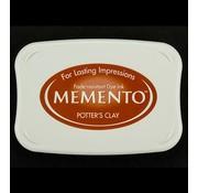 FARBE / STEMPELKISSEN Memento grandi dimensioni: 96x67mm, Colore: Clay Potter