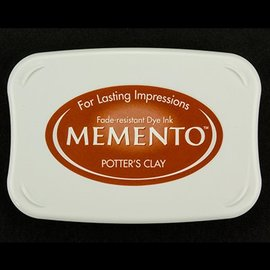FARBE / STEMPELKISSEN Memento grande taille: 96x67mm, Couleur: Clay Potter