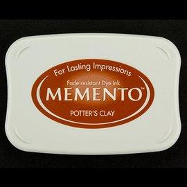 FARBE / STEMPELKISSEN Memento stor størrelse: 96x67mm, Farve: Potters Clay