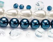 Perles, Swarovski, entre autres, de concevoir la collection MixMedia