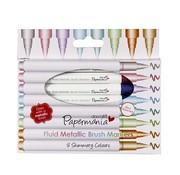 FARBE / STEMPELKISSEN Metallic pens (8pcs) - ball tip