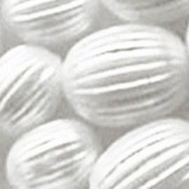 Schmuck Gestalten / Jewellery art Jewelery type beads, white, 8mm
