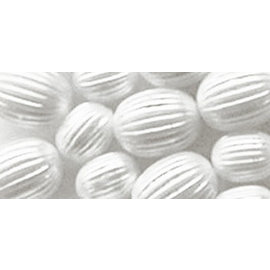 Schmuck Gestalten / Jewellery art Gioielli d'arte scanalature perle, bianco, 8 mm