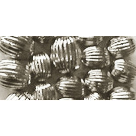 Schmuck Gestalten / Jewellery art Jewellery art Rillenperlen, silber, 8mm