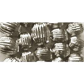 Schmuck Gestalten / Jewellery art Smykkekunst riller perler, sølv, 8mm