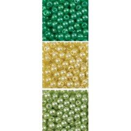 Schmuck Gestalten / Jewellery art Jewellery art Perlen Trio Acryl, 3mm