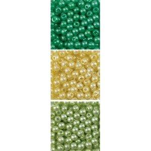 Schmuck Gestalten / Jewellery art Smykker art perler Trio akryl, 3mm