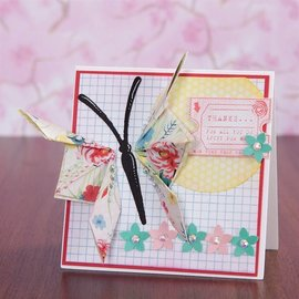 Docrafts / X-Cut troqueles de corte: la mariposa