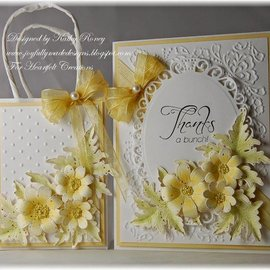 Docrafts / X-Cut Punching template: Flowers