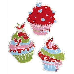 Embellishments / Verzierungen Houtpellets delen: Sugar Tart