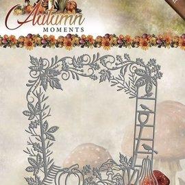 AMY DESIGN AMY DESIGN, Plantilla de corte y estampado, marco decorativo, tamaño: aprox. 13 x 13 cm