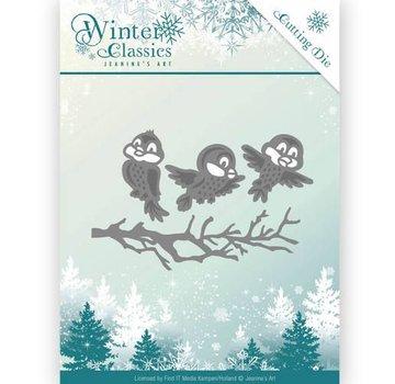 JEANINES ART (NEU) Skæring og prægning Dies, Winter Classics - Vinterfugle