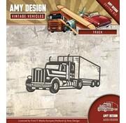 AMY DESIGN AMY DESIGN, Skæring og prægning dør: Truck