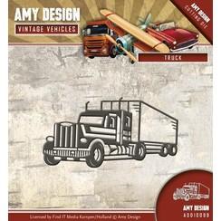 AMY DESIGN, Cutting en embossing dies: Truck