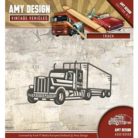AMY DESIGN AMY DESIGN, Cutting en embossing dies: Truck