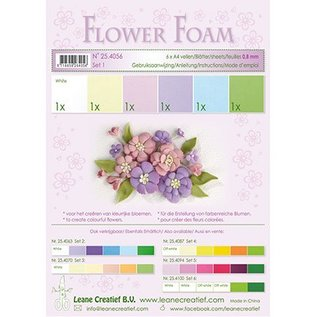 Leane Creatief - Lea'bilities und By Lene Set 1 Pastel Colours; Foam Sheet Assortiment + Anleitung