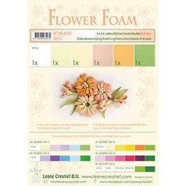 Leane Creatief - Lea'bilities und By Lene Sett 3, laks farge: Skum Sheet sortiment + Guide