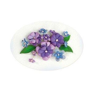 Leane Creatief - Lea'bilities und By Lene Set 2, blue-violet Color: Foam Sheet Assortment + instructions