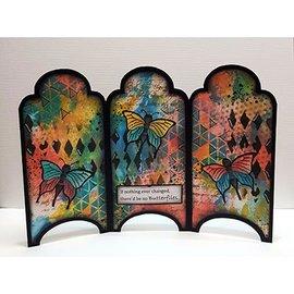 Dutch DooBaDoo Kunst Skabelon: Kort Type Cabinet