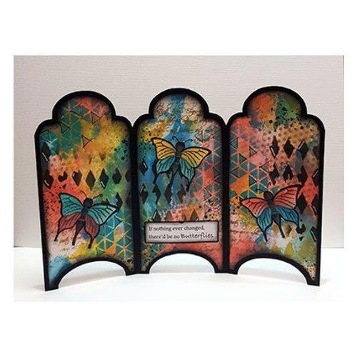 Dutch DooBaDoo Template Art: Card Type Cabinet