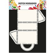 Dutch DooBaDoo Art template: Box Art Suitecase